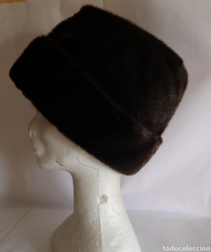 Antigüedades: Gorro caballero piel pelo - Sombrero hombre Alemania - Foto 5 - 208433747