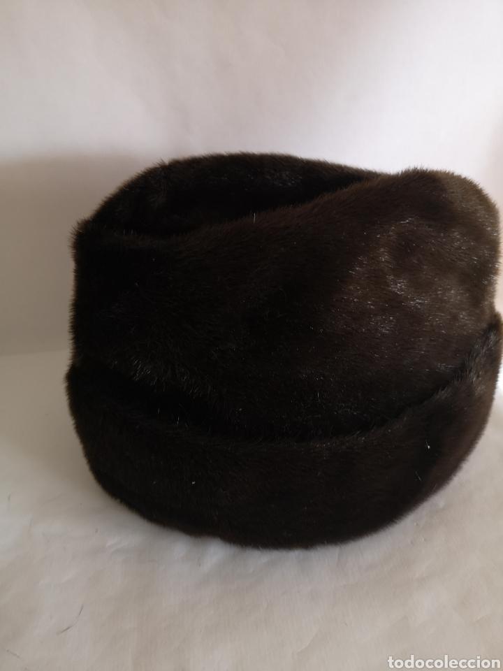 Antigüedades: Gorro caballero piel pelo - Sombrero hombre Alemania - Foto 2 - 208433747