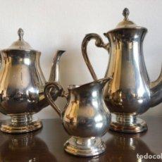 Antigüedades: JUEGO CAFÉ MENESES. Lote 208479590