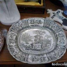 Antigüedades: FUENTE SARGADELOS 32 CM...COLOR RARO. . DIBUJO TORCIDO RAREZA...3ª EPOCA DE SARGADELOS.. Lote 208493917