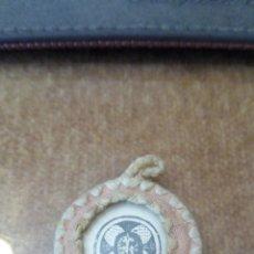 Antigüedades: ESCAPULARIO DE CRISTO Y LA CRUZ GAMADA. Lote 208650446