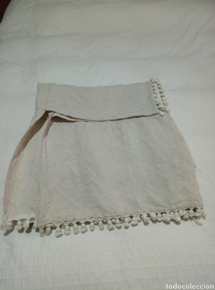 Antigüedades: Preciosa colcha de lino de telar siglo XIX - Foto 4 - 208769778