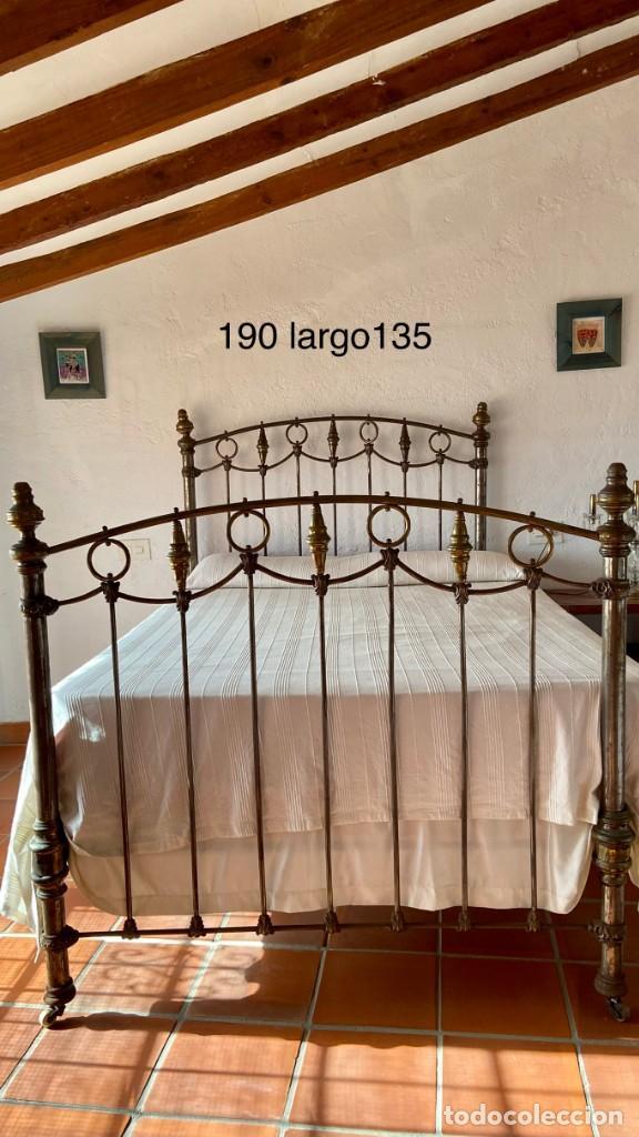 NAPOLEONIC CAMA (1817) BRONZE Y HIERRO (Antigüedades - Muebles Antiguos - Camas Antiguas)