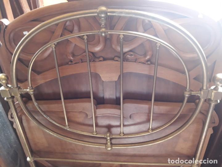 Antigüedades: Cabecero cana - Foto 2 - 208814751