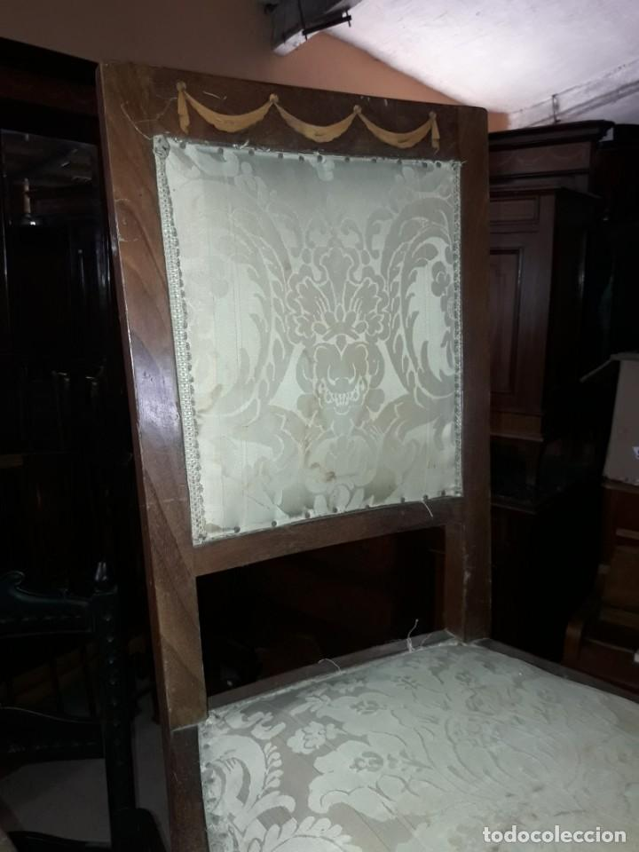 Antigüedades: Pareja de sillas - Foto 2 - 208818030