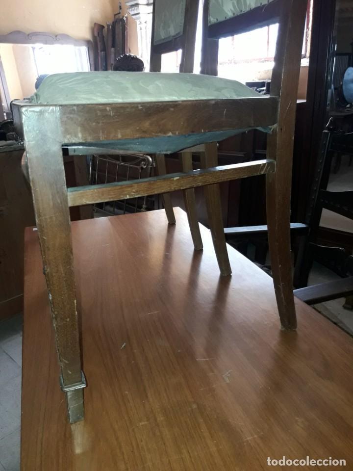 Antigüedades: Pareja de sillas - Foto 3 - 208818030