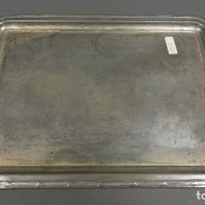 Antigüedades: BANDEJA METÁLICA PEQUEÑA. Lote 208826518