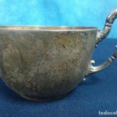 Antigüedades: TAZA PLATEADA. Lote 208853471