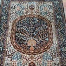 Antigüedades: ALFOMBRA ISFAHAN 100% SEDA. Lote 208858700