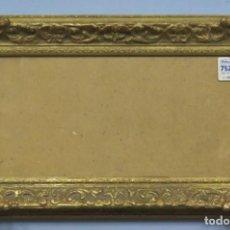 Antigüedades: ANTIGUO MARCO DE MADERA DORADA. ESTILO LUIS XV. HACIA 1890. Lote 208889478