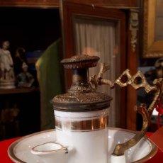 Antigüedades: TINTERO. I IMPERIO. VIEJO PARIS.. Lote 208916113