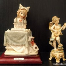 Antigüedades: LOTE FIGURAS ITALIANAS. Lote 208916553
