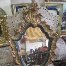 Antigüedades: CORNUCOPIA EN MADERA POLICROMADA. Lote 208924110