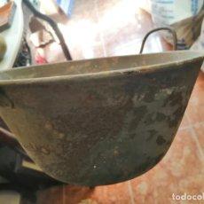 Antigüedades: CALDERO DE HIERRO. Lote 208940610