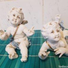 Antigüedades: ANGELES QUERUBINES PORCELANA ALGORA PARA RESTAURAR. Lote 208942965