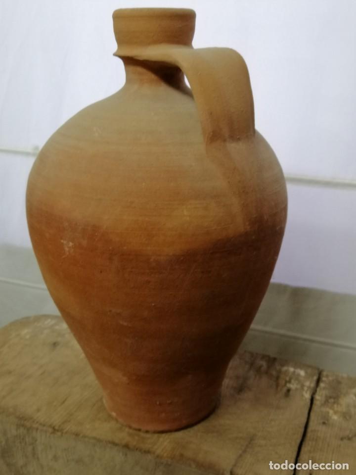 Antigüedades: CÁNTARO DE BARRO, PRINCIPIOS SIGLO XX, 40 cm - Foto 2 - 208947066