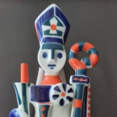 Antigüedades: FIGURA ARZOPISPO XELMIREZ SARGADELOS. ESCASÍSIMA. Lote 208947106