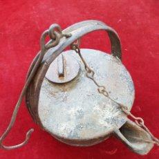 Antigüedades: ANTIGUA LAMPARA DE ACEITE. Lote 208962430
