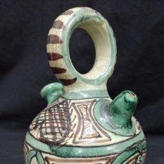 Antigüedades: BOTIJO DE CERÁMICA DE TERUEL. AL. Lote 208998360