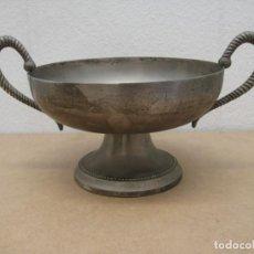 Antigüedades: CENTRO DE MESA EN METAL PLATEADO. Lote 209089737