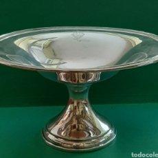 Antigüedades: FRUTERO DE PLATA DE LEY CON MARCAS. Lote 209094312
