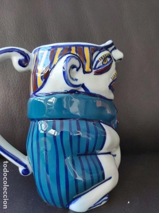 Antigüedades: Jarra Vicios Castro Gabarolarse.Diseño de Isaac Diaz Pardo - Foto 2 - 209094606