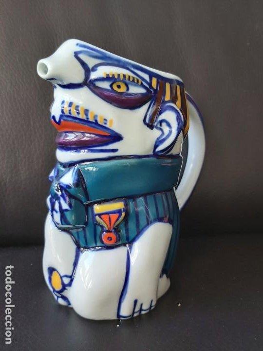Antigüedades: Jarra Vicios Castro Gabarolarse.Diseño de Isaac Diaz Pardo - Foto 5 - 209094606