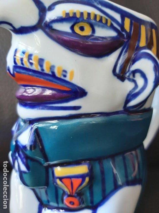 Antigüedades: Jarra Vicios Castro Gabarolarse.Diseño de Isaac Diaz Pardo - Foto 9 - 209094606