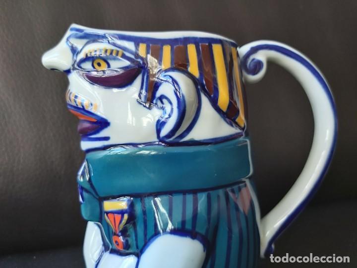 Antigüedades: Jarra Vicios Castro Gabarolarse.Diseño de Isaac Diaz Pardo - Foto 13 - 209094606