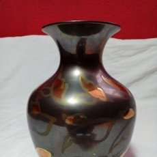 Antigüedades: JARRON DE METAL DE LA INDIA. Lote 209105295