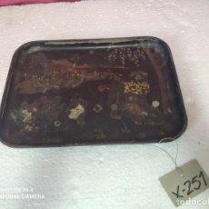 Antigüedades: BANDEJA TÉCNICA DEL LACADO - XXX 251. Lote 43018252