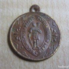 Antigüedades: MEDALLA DE LA ROMERÍA DE SAN ISIDRO LABRADOR PATRÓN DE MADRID PRIMERA MITAD S XX. Lote 209126536