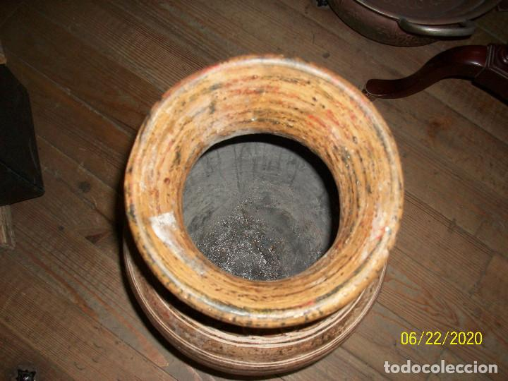 Antigüedades: ANTIGUO JARRON DE BARRO - Foto 3 - 209156670