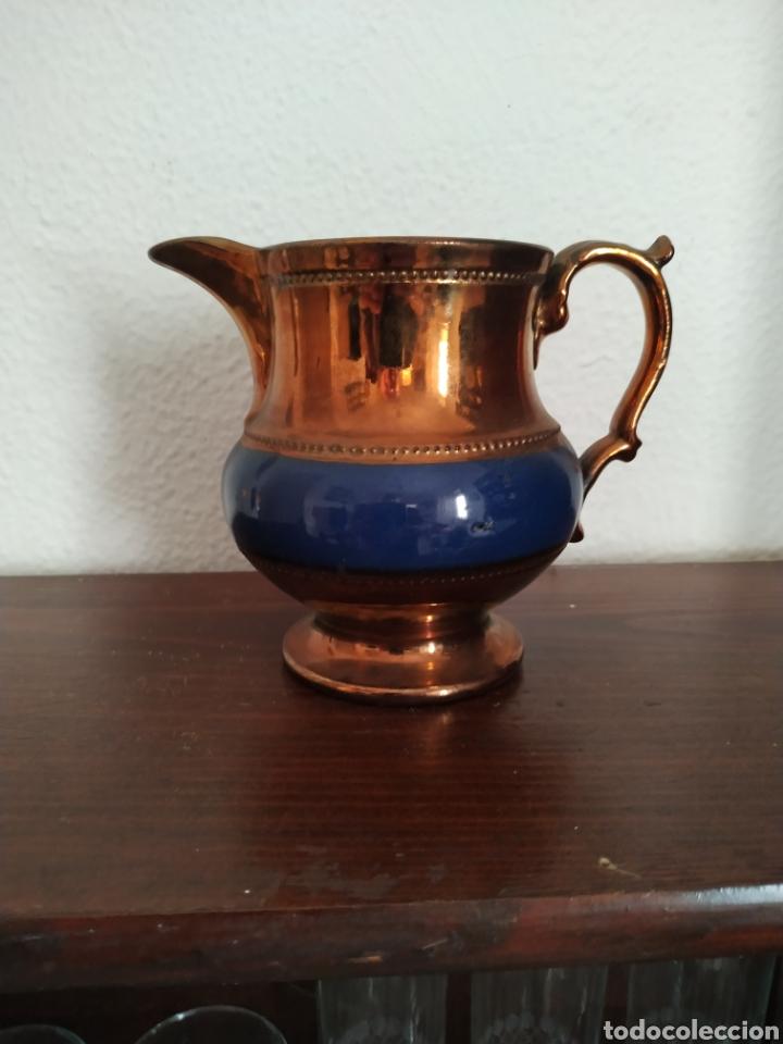 JARRA DE BRISTOL SIGLO XIX (Antigüedades - Porcelanas y Cerámicas - Inglesa, Bristol y Otros)