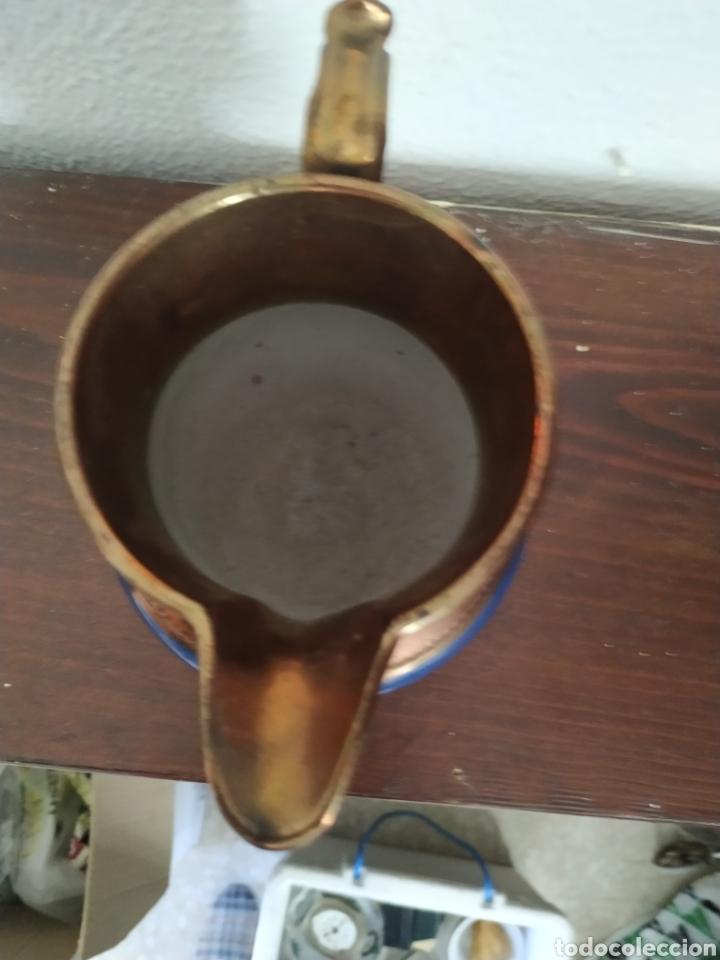 Antigüedades: Jarra de reflejos metálicos , Bristol .Siglo XIX - Foto 5 - 209157946
