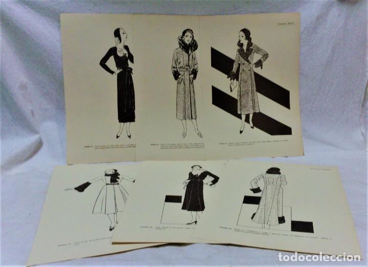 Antigüedades: EDICIONES MARTÍ.INVIERNO 1931.CARPETA CON 31 LÁMINAS,6 DESPLEGABLES CON PATRONES E INFORMATIVOS - Foto 8 - 236139915
