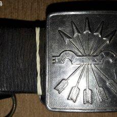 Antiquités: CINTURÓN FALANGE. Lote 209255550