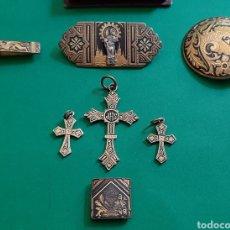 Antigüedades: LOTE DAMASQUINADOS ANTIGUOS.. Lote 209261300