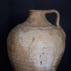 Antigüedades: CANTARO DE HERRERA CON CUÑO DE FELIX GARCIA. Lote 209298351