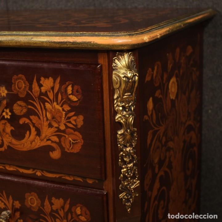Antigüedades: Cómoda francesa en madera con incrustaciones - Foto 5 - 209312060