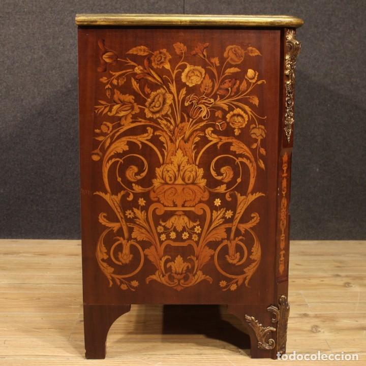 Antigüedades: Cómoda francesa en madera con incrustaciones - Foto 8 - 209312060