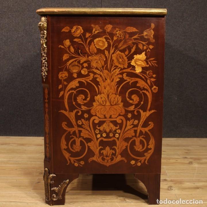 Antigüedades: Cómoda francesa en madera con incrustaciones - Foto 11 - 209312060