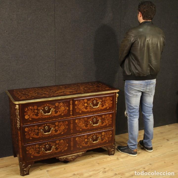 Antigüedades: Cómoda francesa en madera con incrustaciones - Foto 12 - 209312060