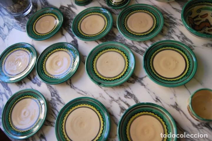 Antigüedades: JUEGO DE CAFÉ DE CERÁMICA - PUENTE DEL ARZOBISPO - HNOS. ESCOBAR - 10 SERVICIOS - AZUCARERO,CAFETERA - Foto 15 - 209315187