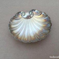 Antiguidades: PLATA DE LEY. CONCHA DE SANTIAGO. Lote 209323045