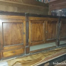 Antigüedades: CAJONERA DEL S. XIX EN MADERA DE CAOBA, PARA RESTAURAR.. Lote 209328860