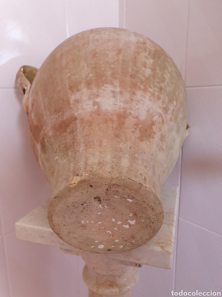 Antigüedades: ANTIGUA Y PRECIOSA ORZA VIDRIADA POR LA PARTE DE ARRIBA - Foto 5 - 209331323