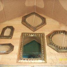Antiquités: LOTE DE 5 ESPEJOS GRANADINOS. Lote 209386141
