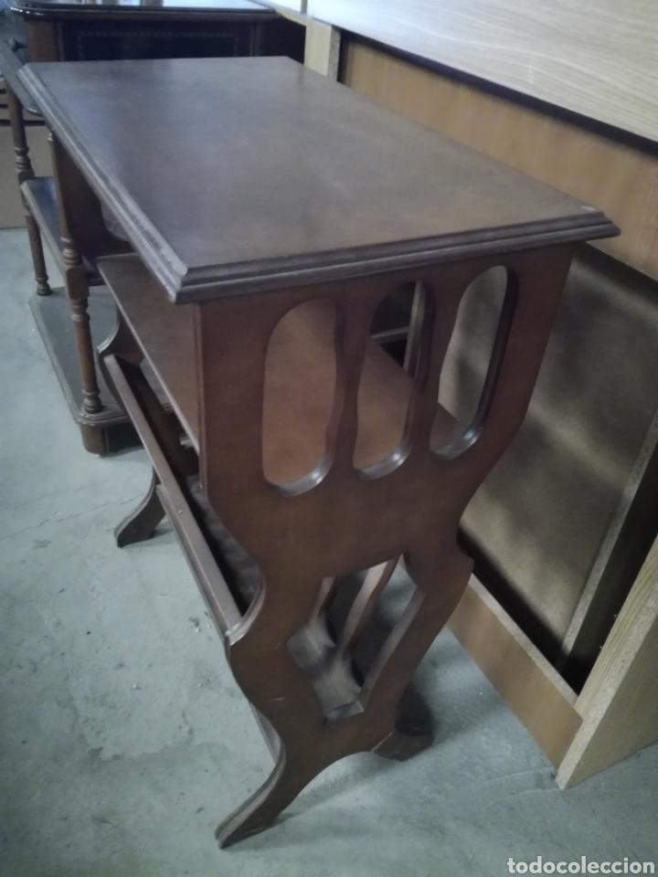 Antigüedades: Mueble auxiliar revistero - Foto 6 - 209389413