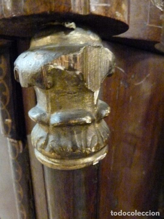 Antigüedades: COMODA ISABELINA DE NOGAL CON INCUSTRACIONES DE BOIX SIGLO XIX - Foto 14 - 209417430